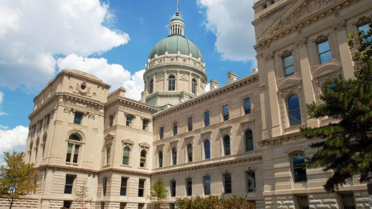 Indiana State Capitol Building, Indianapolis, Indiana, USA